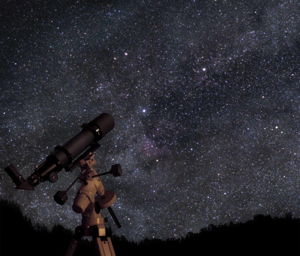 telescopio de largo alcance